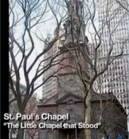 St. Pauls Chapel in New York America