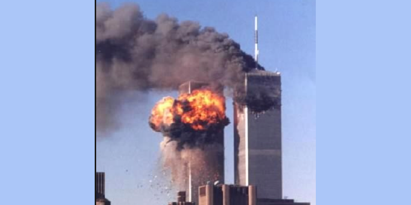 911 2nd tower explodes Twitter
